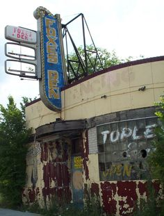 Foxes Den. Abandoned strip club in Detroit