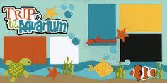 Trip To The Aquarium Page Kit