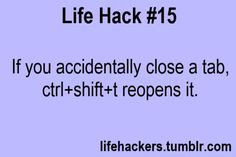 More Life Hacks at www.lifehackers.tumblr.com!