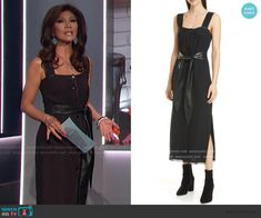 Big Brother Style, Julie Chen, Black Tie, Fashion Outfits, Board, Clothes, Dresses, Outfits, Vestidos
