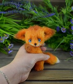Ирина Чернявская Little Fox, Dinosaur Stuffed Animal, Photo Wall, Teddy Bear, Animals, Photograph, Animales, Animaux, Teddy Bears
