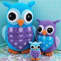 Familjen Uggla - HJ Shop - shoppa online inredning, handarbete, accessoarer, smarta prylar till överkomliga priser!