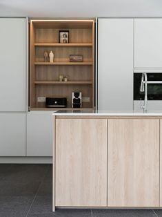 Sally's Kitchen, Cocinas Kitchen, Hidden Kitchen, Kitchen On A Budget, Kitchen Decor, Home Interior, Interior Design Kitchen, Home Room Design, House Design