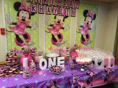 Candy station at khaylin's 1st bday