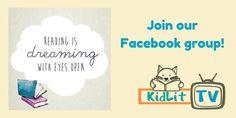 Join the KidLit TV Facebook Community.  Helping authors, illustrators, educators, and parents explore the world of children's literature.