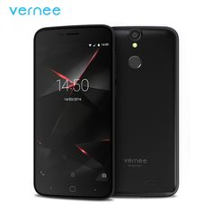 "Vernee Thor 5"" HD 4G LTE Mobile Phone MTK6753 Octa-Core Android 6.0 Cell Phones 3G RAM 16G ROM Dual SIM Fingerprint Smartphone"