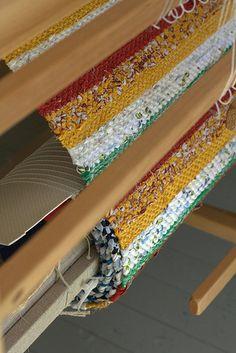 Rag Rugs, Weaving, Tapestry, Country, Loom, Hand Knotted Rugs, Handmade, Rugs, Hanging Tapestry
