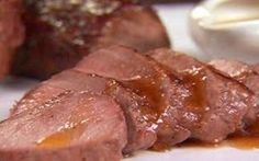 Pork Tenderloin with Apple Cider Reduction Recipe : Aida Mollenkamp : Food Network Pork Tenderloin Recipes, Pork Recipes, Fall Recipes, Cooking Recipes, Cooking Pork, Recipies, Tenderloin Pork, Dinner Recipes, Cooking Fish