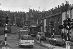 Traffic in 1969. Pell Street.
