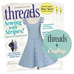 We've Teamed Up with Threads Magazine to Give You this Very Special Offer! Click: http://www.craftsy.com/ext/Pin_BP2_20120908