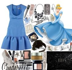 Cinderella inspired outfit, how cute
