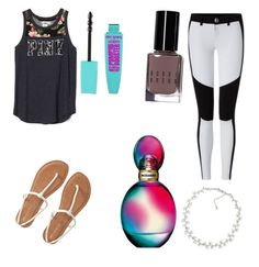 """""""End of the school year Ootd"""" by micahisaunicorn on Polyvore featuring Aéropostale, Carolee, Bobbi Brown Cosmetics and Missoni"""