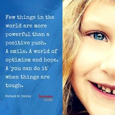 The power of a positive push. #positivity