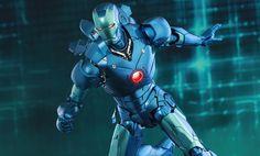 Iron Man Mark III Stealth Mode Version Sixth Scale Figure