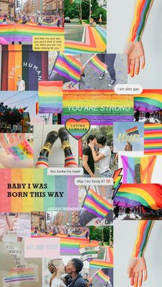 New Ideas for simple aesthetic wallpaper love Rainbow Wallpaper, Mood Wallpaper, Aesthetic Pastel Wallpaper, Aesthetic Backgrounds, Wallpaper Iphone Cute, Wallpaper Quotes, Aesthetic Wallpapers, Cute Wallpapers, Gay Aesthetic