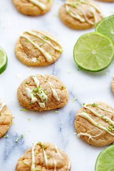 The BEST Key Lime Pie Cookies EVER! They taste just like Key Lime Pie but in Cookie Form | Grandbaby Cakes