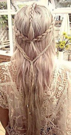 BeyazBegonvil I Kendin Yap I Alışveriş IHobi I Dekorasyon I Kozmetik I Moda blogu: Bohem Saç Tarzı Nasıl Yapılır ?