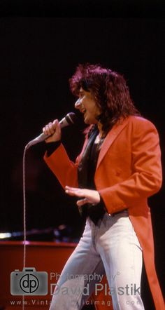 Steve Perry ROR 1986 Journey Albums, Journey Band, Journey Steve Perry, Boogie Woogie, Music Images, Stevie Ray, M Photos, Blues Music, Vintage Music