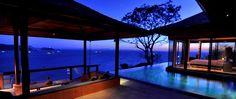 Not just an idea. It's my honeymoon locale. Sri Panwa, Phuket, Thailand.