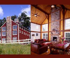 Beautiful barn style