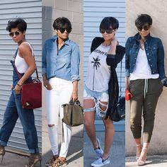 From casual to chic .. details of my latest posts www.Kyrzayda.com #fashiongoodidea #flyfashiondoll @thugnanny_