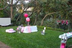 Under the Stars Tween / Teen Girl Birthday Party via Karas Party Ideas #star #sparkle #tween #pink #girl #birthday #party #idea (17)