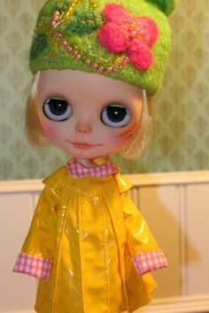 OOAK Custom blythe doll by PaisleyMaeDesigns on Etsy