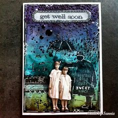 Made by Sannie: Whatever the Weather card with video tutorial - #sssmchallenge