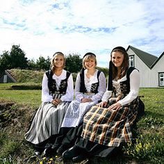 Traditional Costumes    Iceland