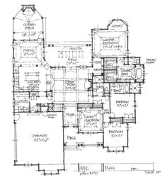 Henry approved. House Design 1432 - First Floor Plan