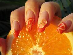 ZigiZtyle: Inspiration Nails: It's Orange! + Tutorial