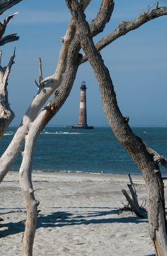 magic-bazaar:    Morris Island Lighthouse, South Carolina