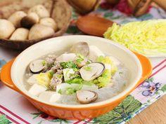 Miến nấu thịt, nấm rơm thơm ngon - http://congthucmonngon.com/99270/mien-nau-thit-nam-rom-thom-ngon.html