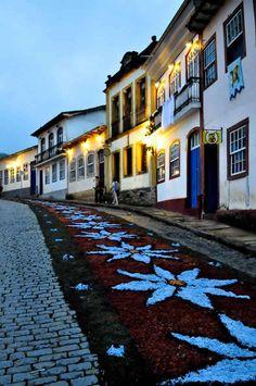 Ouro Preto. State of Minas Gerais. Brasil