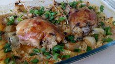 Невероятно пилешко с лук на фурна от Наталия Петрова