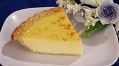 A delicious old fashioned egg custard pie that has a smooth and creamy texture. GETTING READY 1 Preheat oven to 400 degrees. MAKING 2 In a deep sauce pan or. Custard Pies, Easy Egg Custard Pie Recipe, Custard Recipes, Quiche Recipes, Pie Recipes, Cooking Recipes, Coconut Custard, Crust Recipe, Quiche Recipe Without Cream