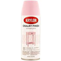 Krylon Bonnet Pink Chalky Finish Spray Paint