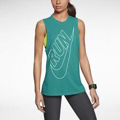 The Nike Tailwind Loose Women's Running Tank Top. #dreamworkoutwardrobe