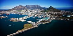STUNNING panoramic shot of Cape Town! The Waterfront looks lovely in the foreground.