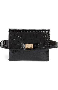Mali + Lili Aria Convertible Vegan Leather Belt Bag   Nordstrom Tumi Backpack, Leather Belt Bag, Vegan Leather, Crocs, Convertible, Nordstrom, Lily, Chanel, Shoulder Bag