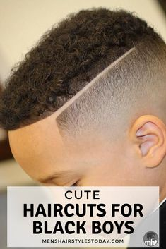 23 Best Black Boys Haircuts Guide) Cute Haircuts For Black Boys – Best Little Black Boy Hairstyles Mixed Boys Haircuts, Little Black Boy Haircuts, Young Boy Haircuts, Boys Haircuts Curly Hair, Black Boy Hairstyles, Boys Fade Haircut, Little Black Boys, Kids Hairstyles Boys, Boy Haircuts Short