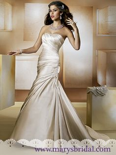 Finding the one—the perfect wedding dress—is where it all starts! Everything you need to know about wedding dress shopping is at your fingertips right here. Wedding Dresses Photos, Bridal Wedding Dresses, Wedding Dress Styles, Designer Wedding Dresses, Bridesmaid Dresses, Bridal Gown Styles, Bridal Style, Wedding Gown Gallery, Mary's Bridal
