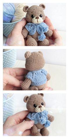 Amigurumi Crochet Teddy Bear Free Pattern – Free Amigurumi Patterns