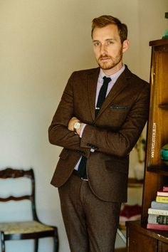 January 17, 2014. Suit: Herringbone Suit - Topman - $110 (70%...