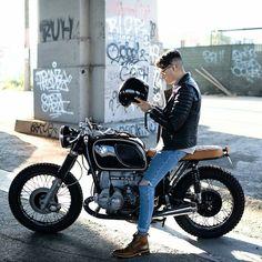 "1,881 Likes, 7 Comments - Cafe Racer And Bobber Nation (@caferacerandbobbernation) on Instagram: ""Midnight inspiration @blakescott_ on his BMW R75/6 ! Stunning capture ! Thanks for sharing …"""