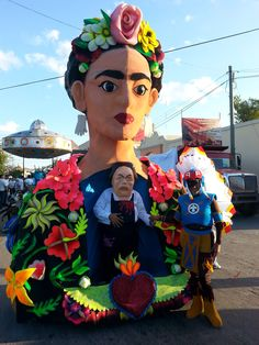 Carnival costume Frida y Diego Campeche México 2014