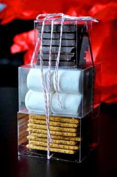 #Christmas #gift wrapping ideas DIY crafts ToniK ⓦⓡⓐⓟ ⓘⓣ ⓤⓟ S'More's last minute gift ideas gift #packaging for neighbors friends teachers babble.com