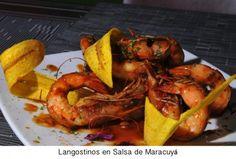 comida panameña | Diablicos, comida panameña Langostinos en Salsa de Maracuya – Que ...
