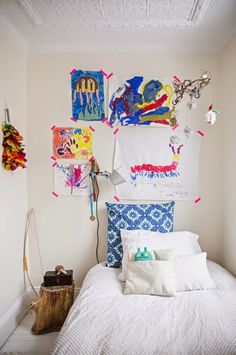 Proof that a family friendly home can still be big on style! guest room