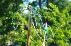 Beaded Garden Ornaments